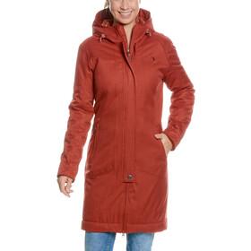 Tatonka Floy Abrigo Mujer, russet red